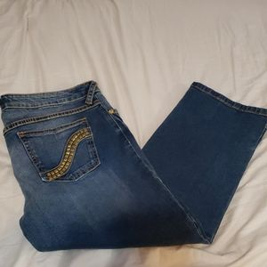 Baby phat crop Jeans